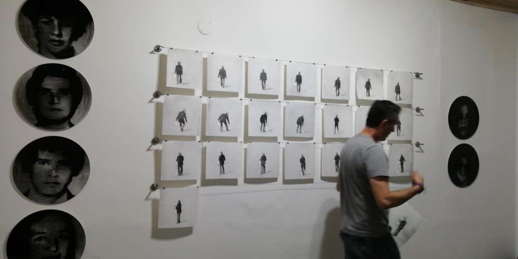 Nelson Gutierrez, Virtual Studio Visit, April 2020 (pictured: Barcu, Bogota)