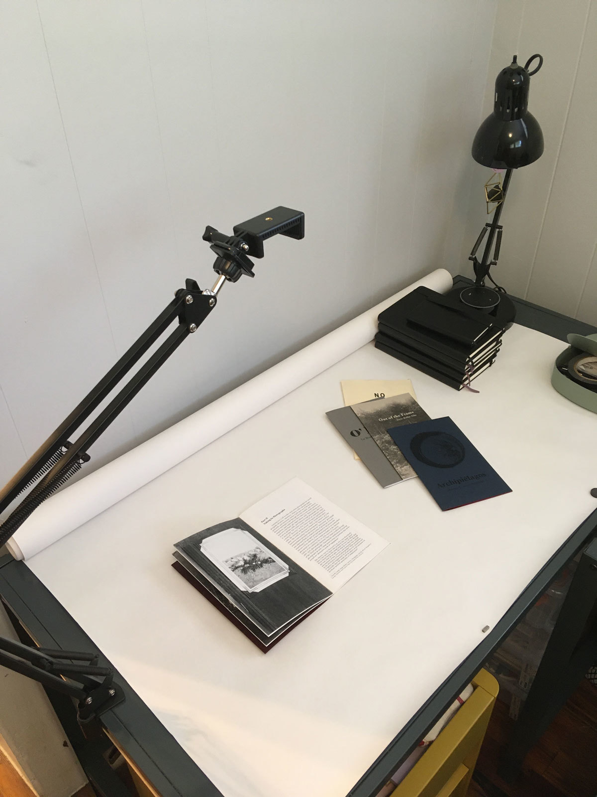 Corkey Sinks, Virtual Studio Visit, May 2020
