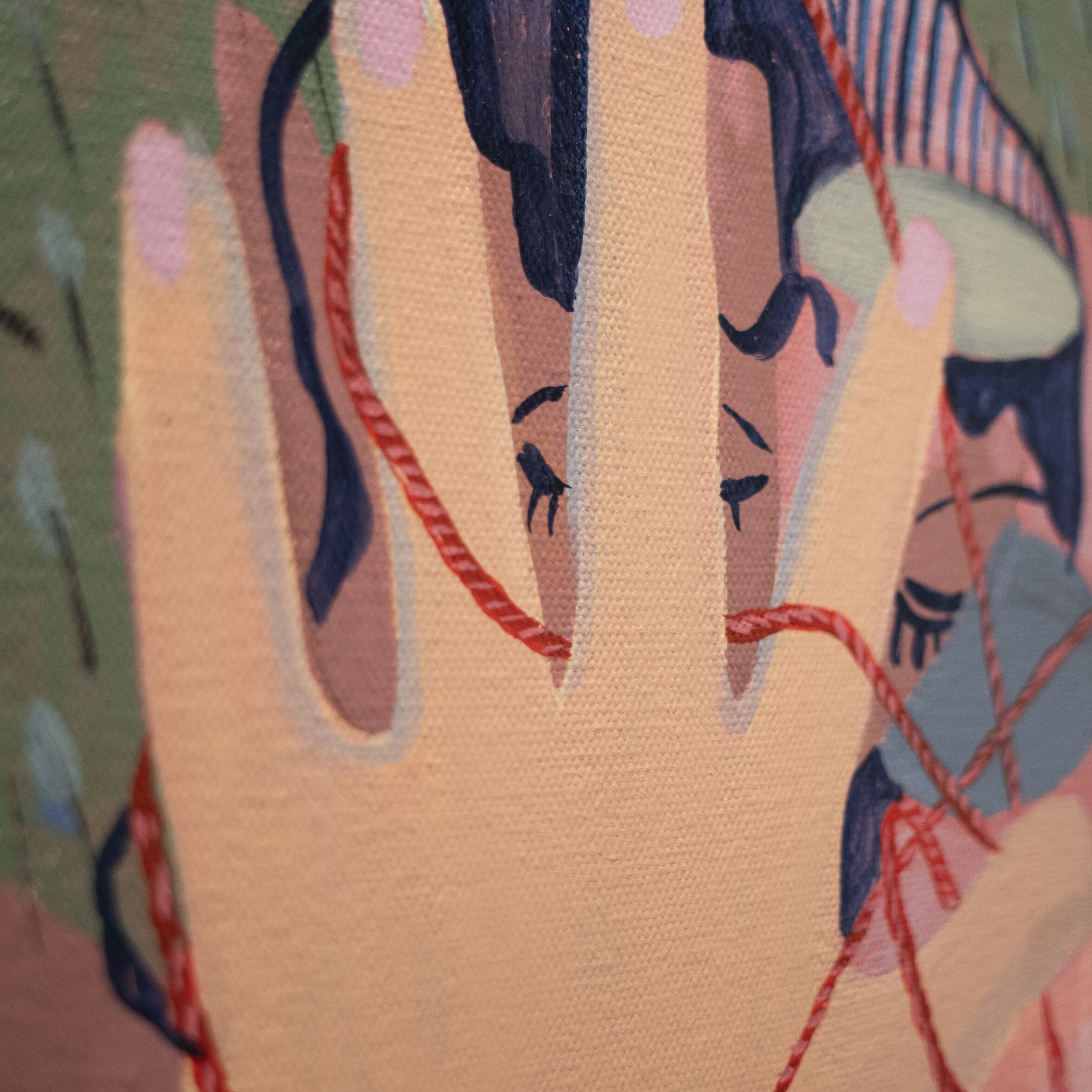 """Jing Qin, """"Palm Reader"""" (photo: Tyler Squires)"""