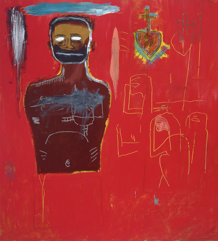 Jean-Michel Basquiat, Untitled (Cadmium), 1984