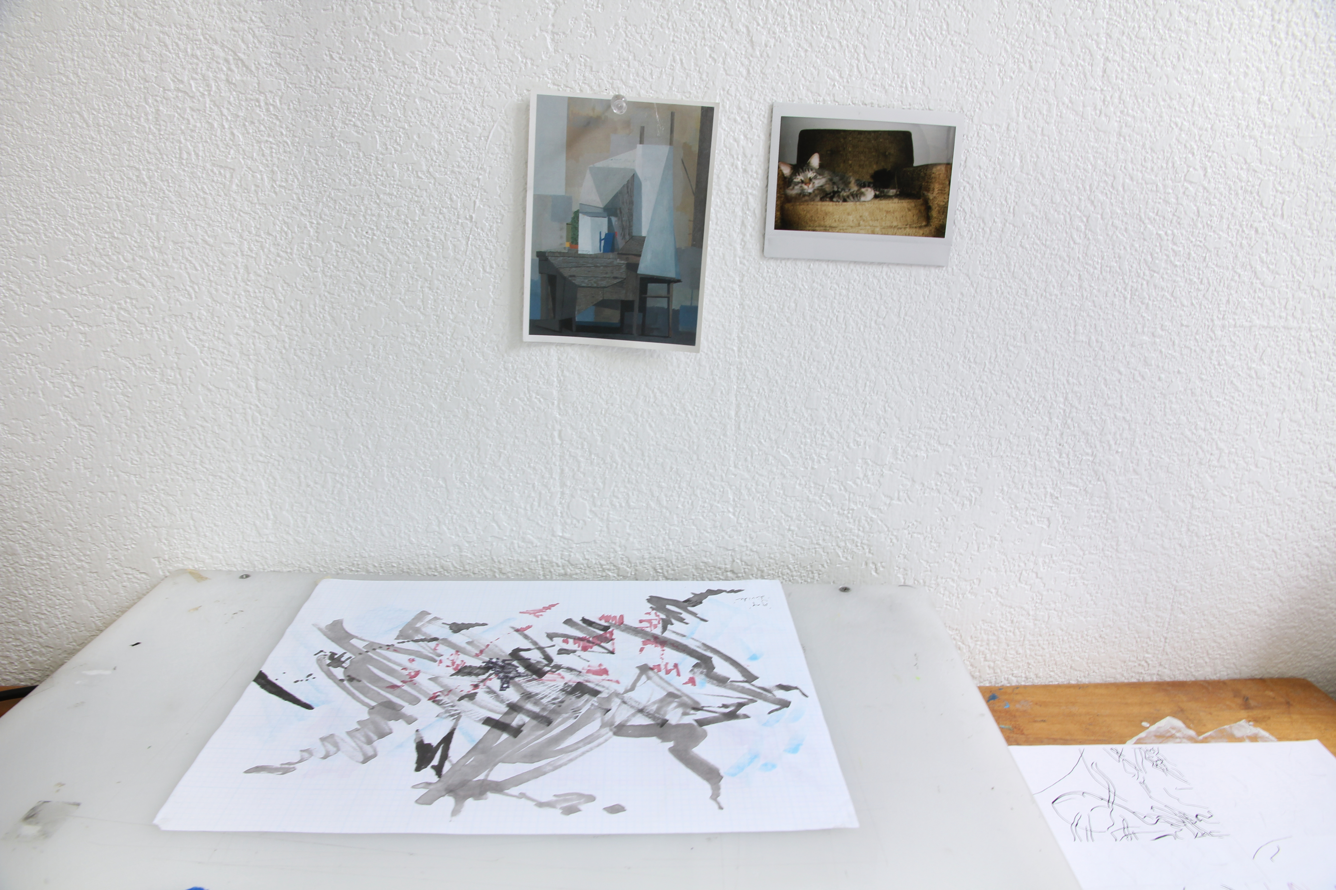 Kate Faulkner, Studio Visit, July 2017