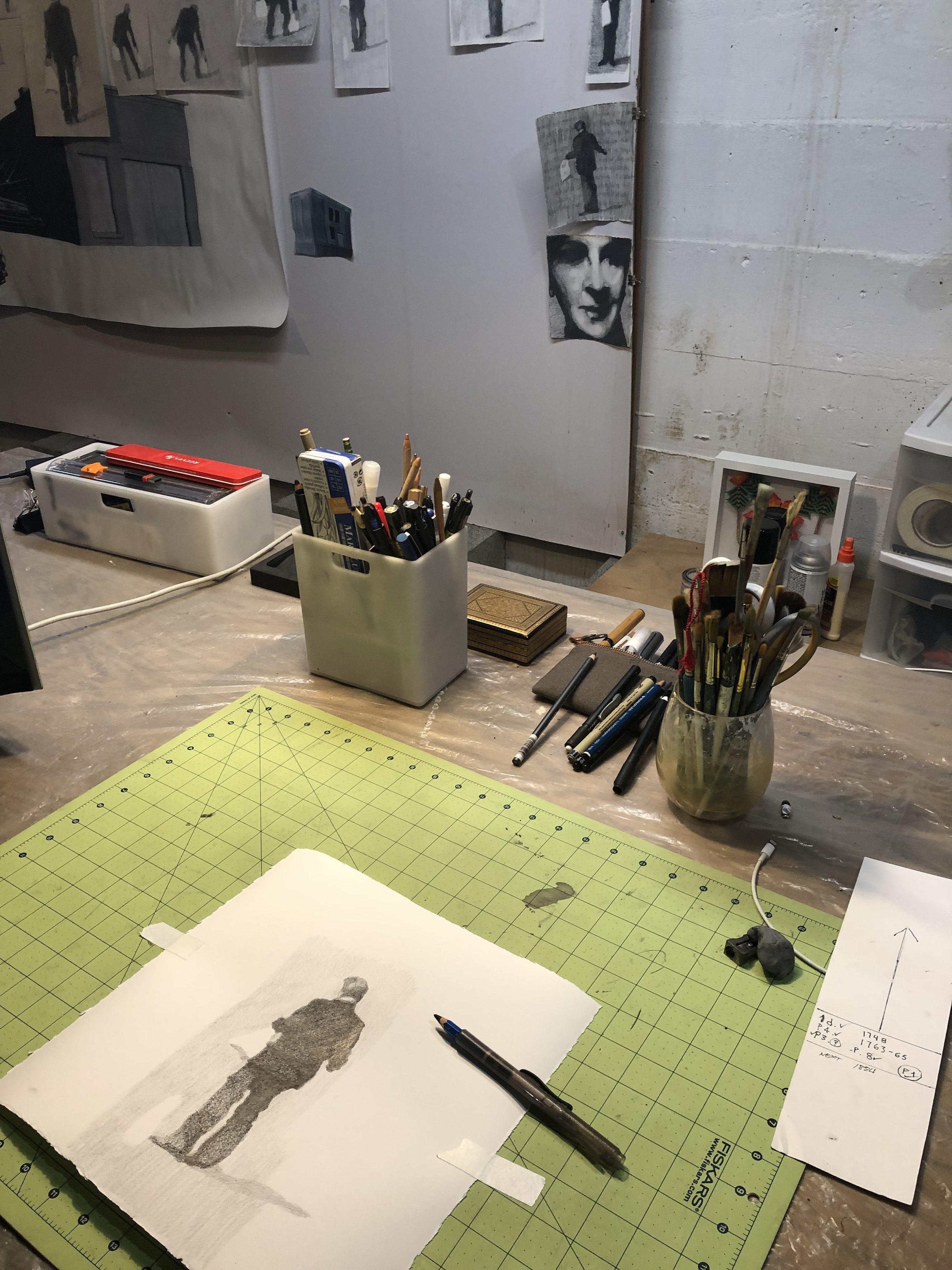 Nelson Gutierrez, Virtual Studio Visit, April 2020