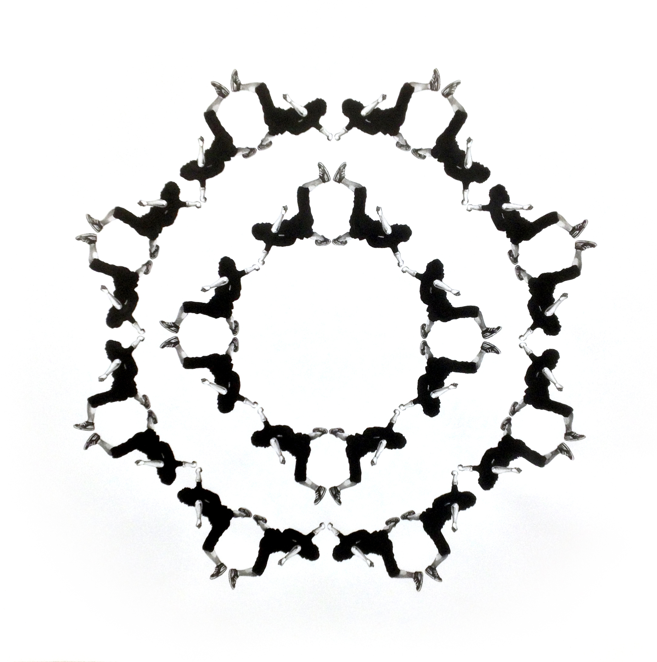"""Mandala, 51"""" x 51"""", 2014"""