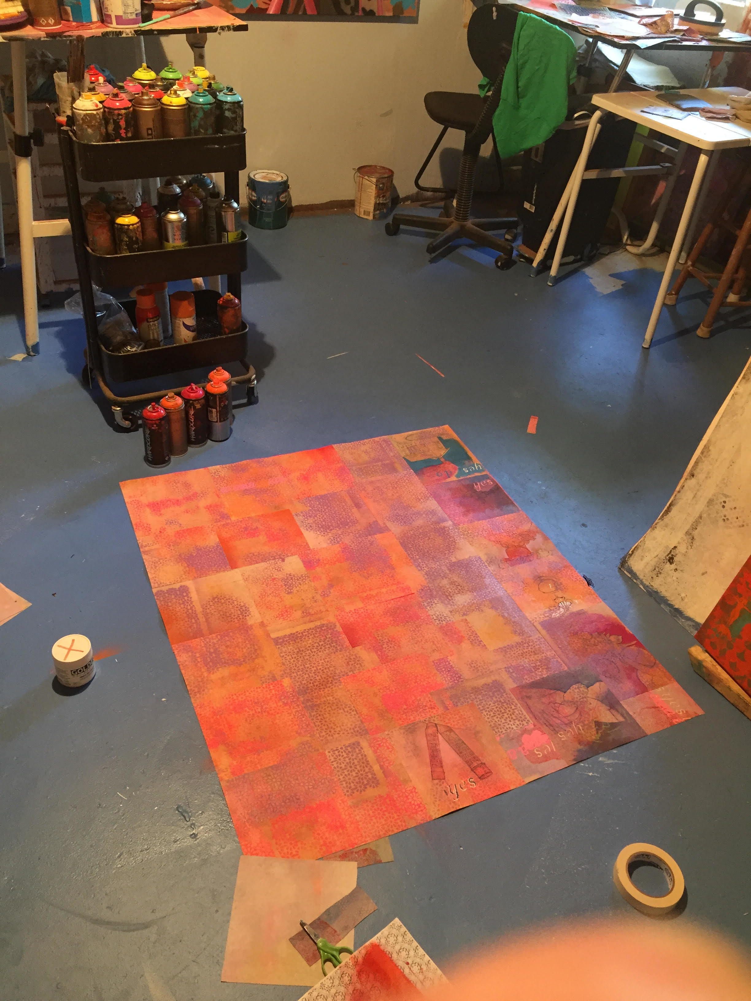 Juan Rojo, Virtual Studio Visit, June 2020