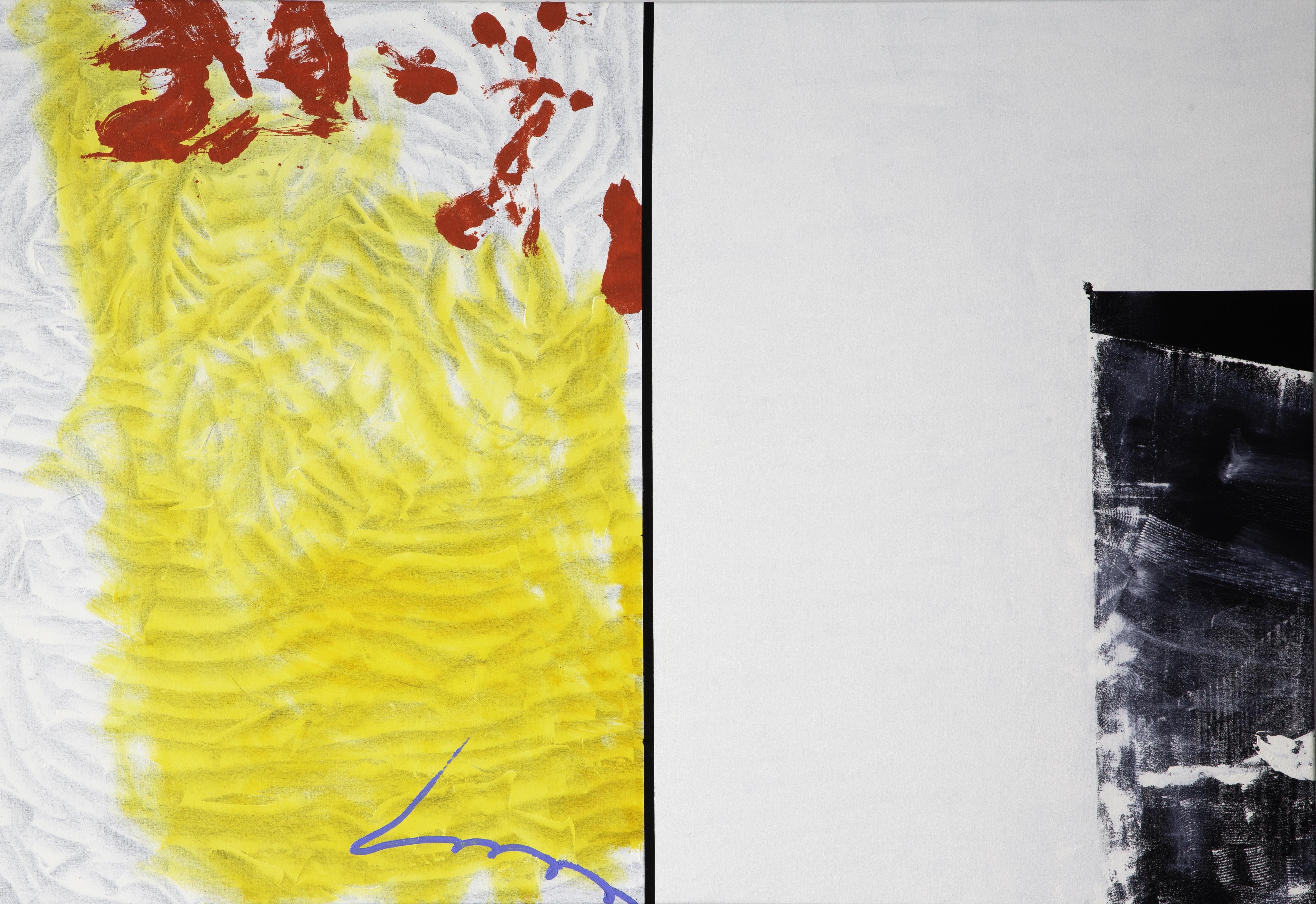 KJ Schumacher, Rinna, oil on canvas, 62 x 90 in, 2020