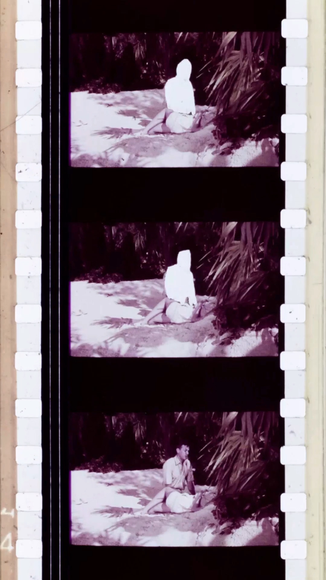 Christopher Spurgin, Everybody These Days, (video still), 35mm to digital video, 2019