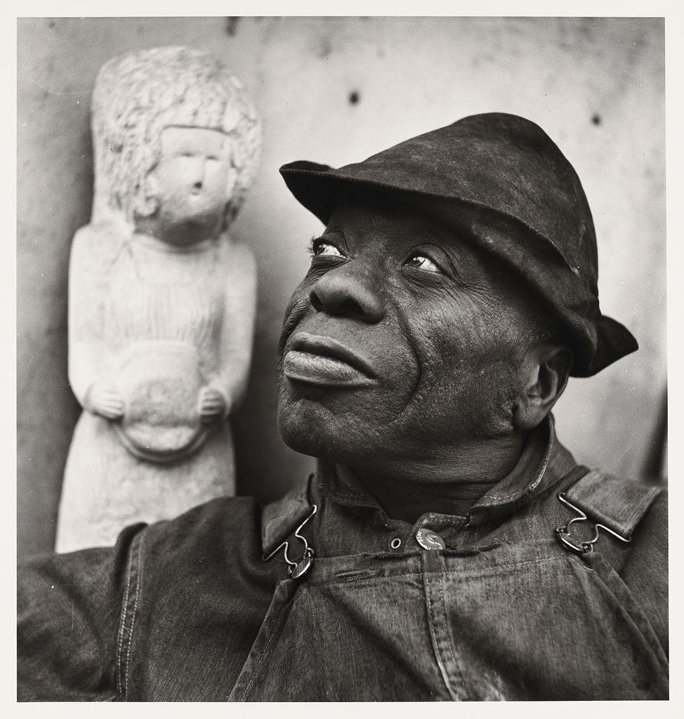 William Edmondson (photographer: Louise Dahl-Wolfe)