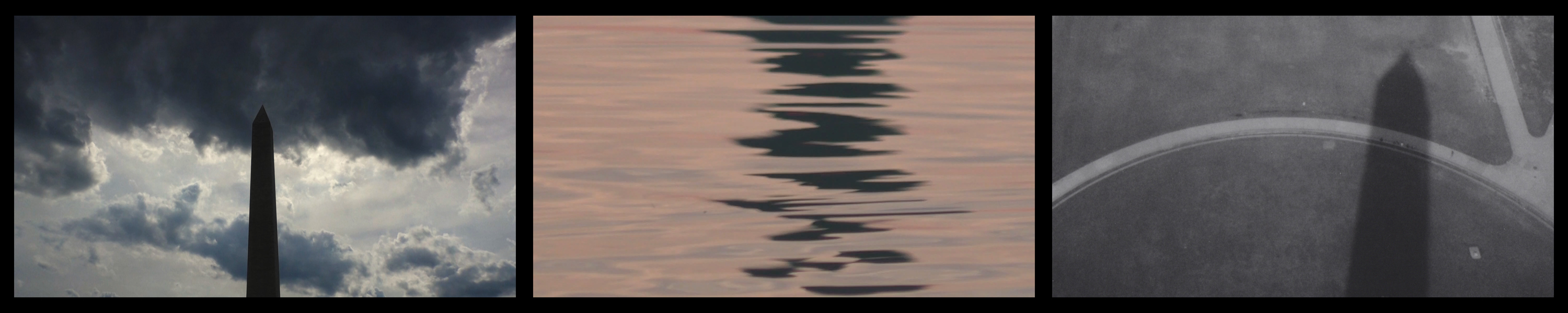 Jana Harper, Horizon Broader Is, The The You Fly, (video still), 3-channel video, 2016