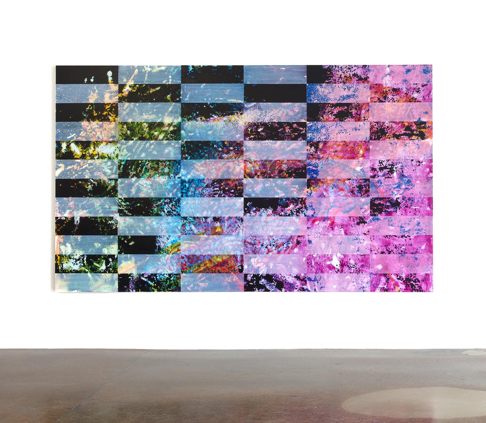 """Jered Sprecher, Respiro, oil on canvas, 72"""" x 120"""", 2015. (Courtesy of Artist and Zeitgeist Gallery)"""