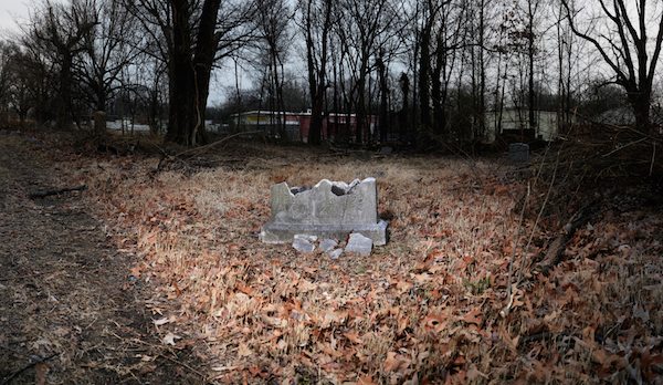 Sacred to the Memory series, Mt. Carmel Crumbing Headstone
