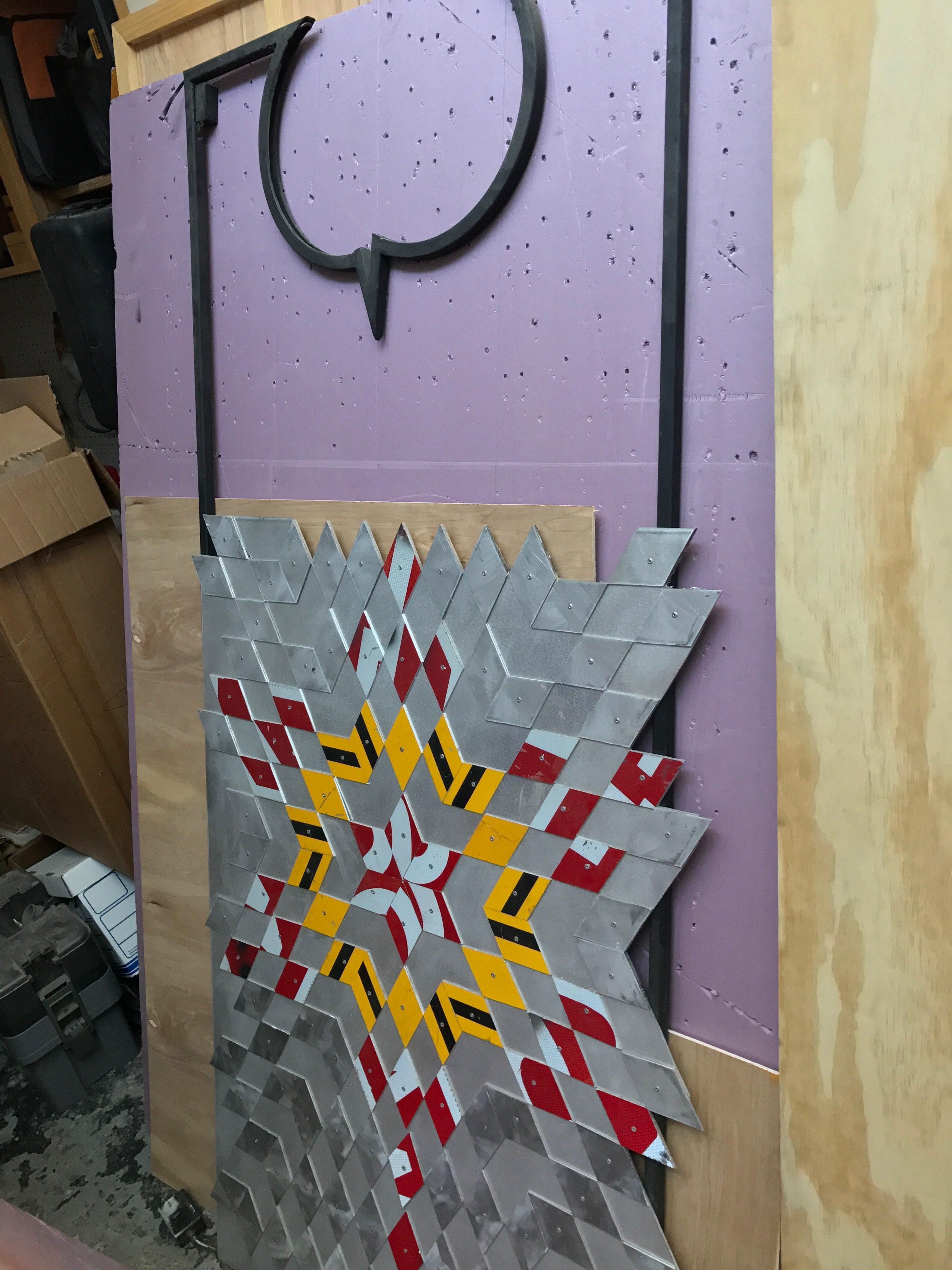 Greely Myatt, Studio Visit, November 2016