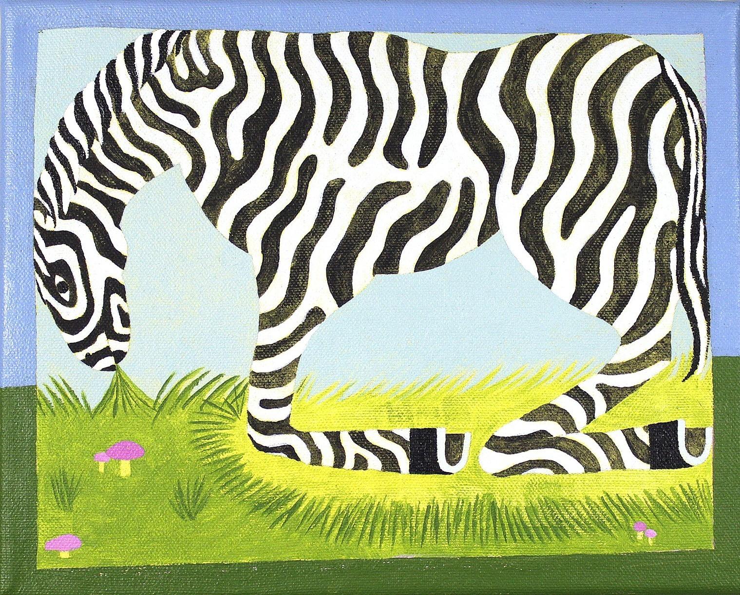 David Onri Anderson, Zebra (Tiger Horse), 2018