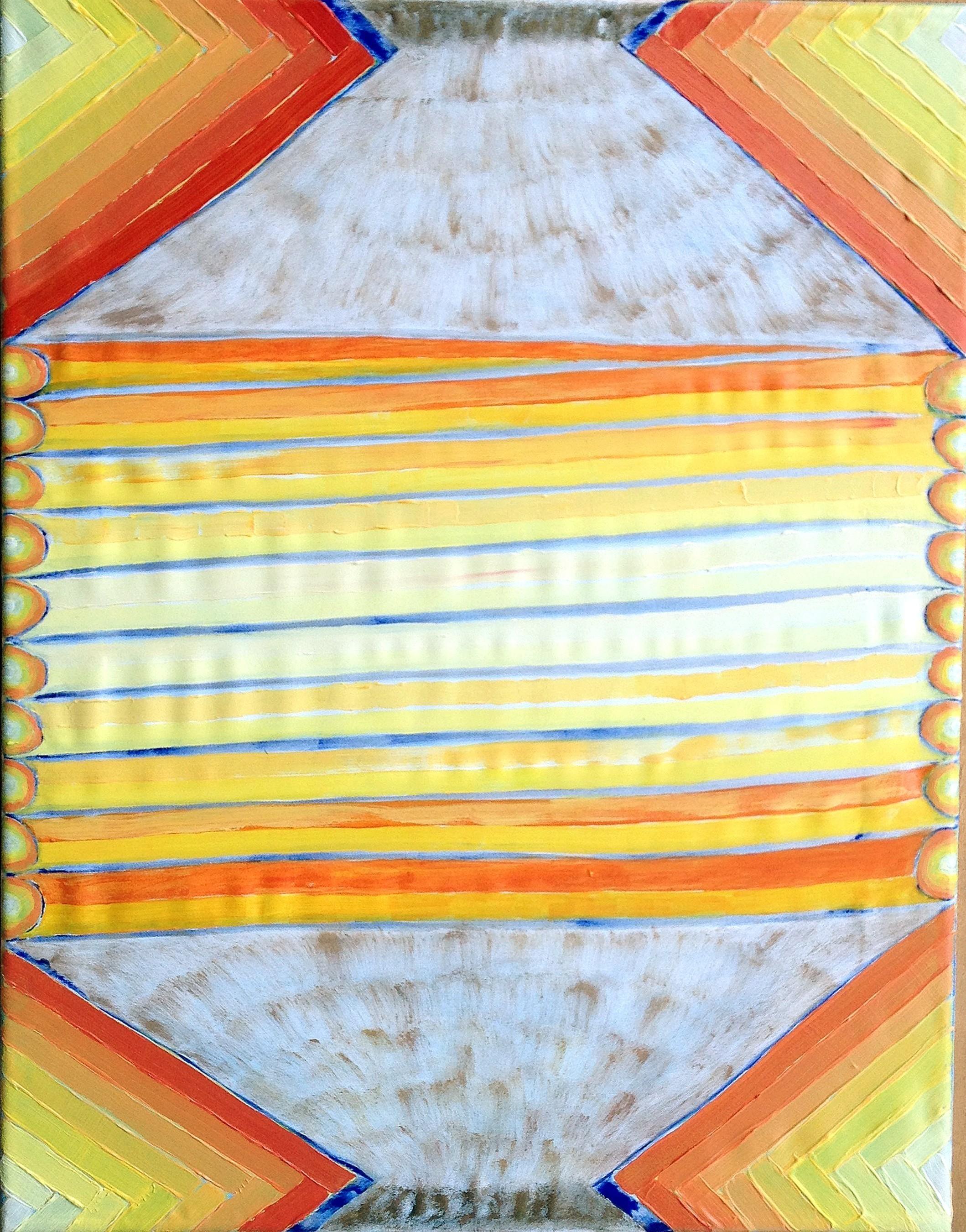 David Onri Anderson, Inner Flame Paper Lantern, 2017