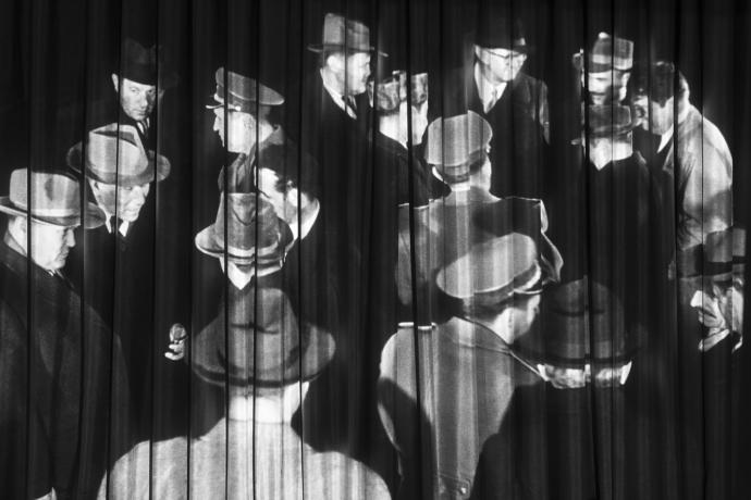 Vesna Pavlović, Fototeka (Projection Still III). Archival pigment print, 2015.