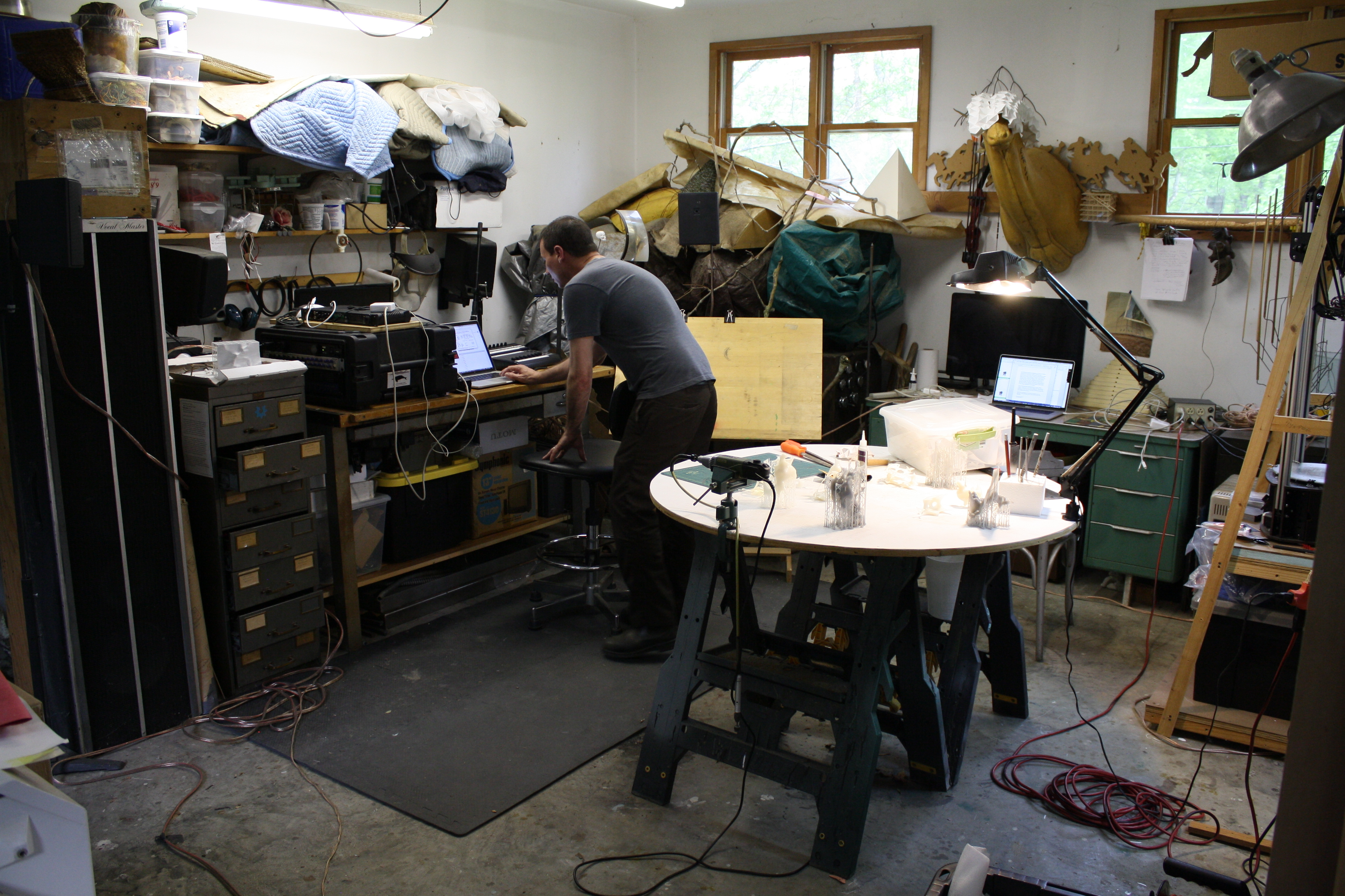 Greg Pond, Studio Visit, May-June 2018