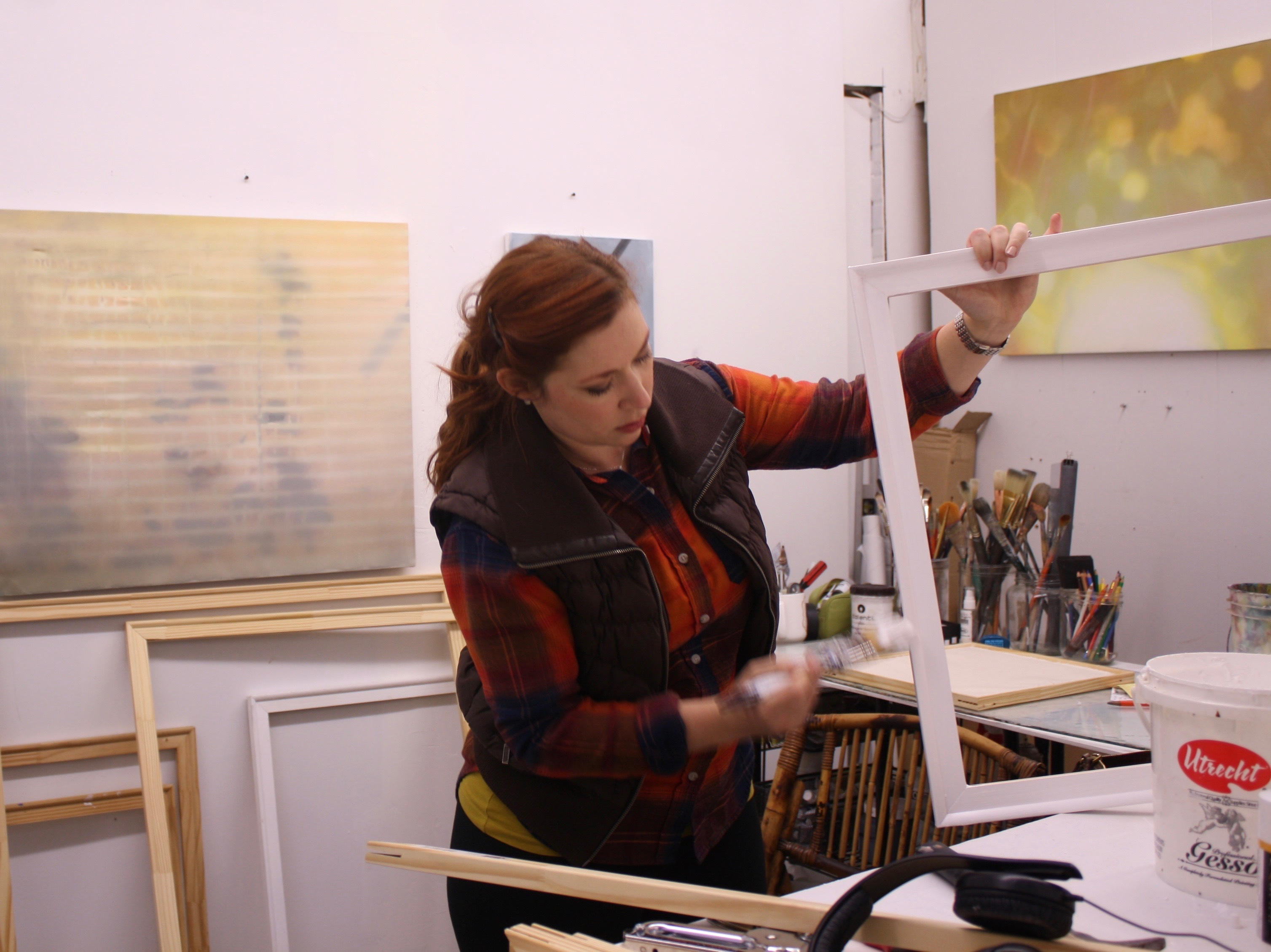 Heather Hartman, Studio Visit, December 2017