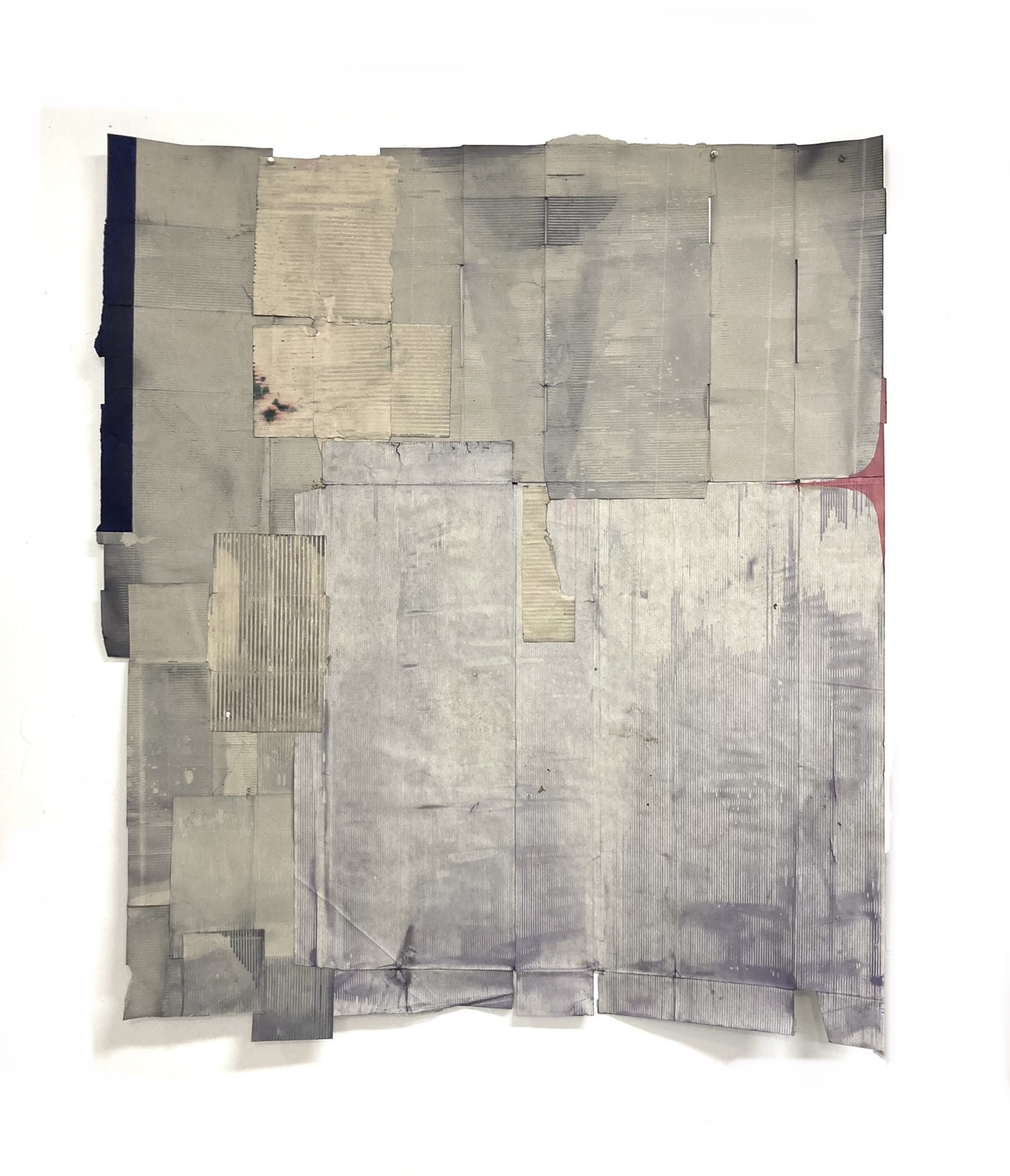 """Jodi Hays, Mirror, 51"""" x 46"""", dye, oil, paper (images courtesy of the artist and Sam Angel Photography)"""