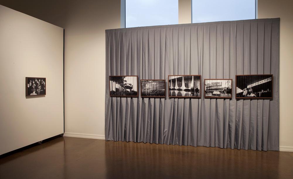 Vesna Pavlović, Installation photo of Lost Art, 2015, Zeitgeist Gallery, Nashville, TN (* also seen in header photo)