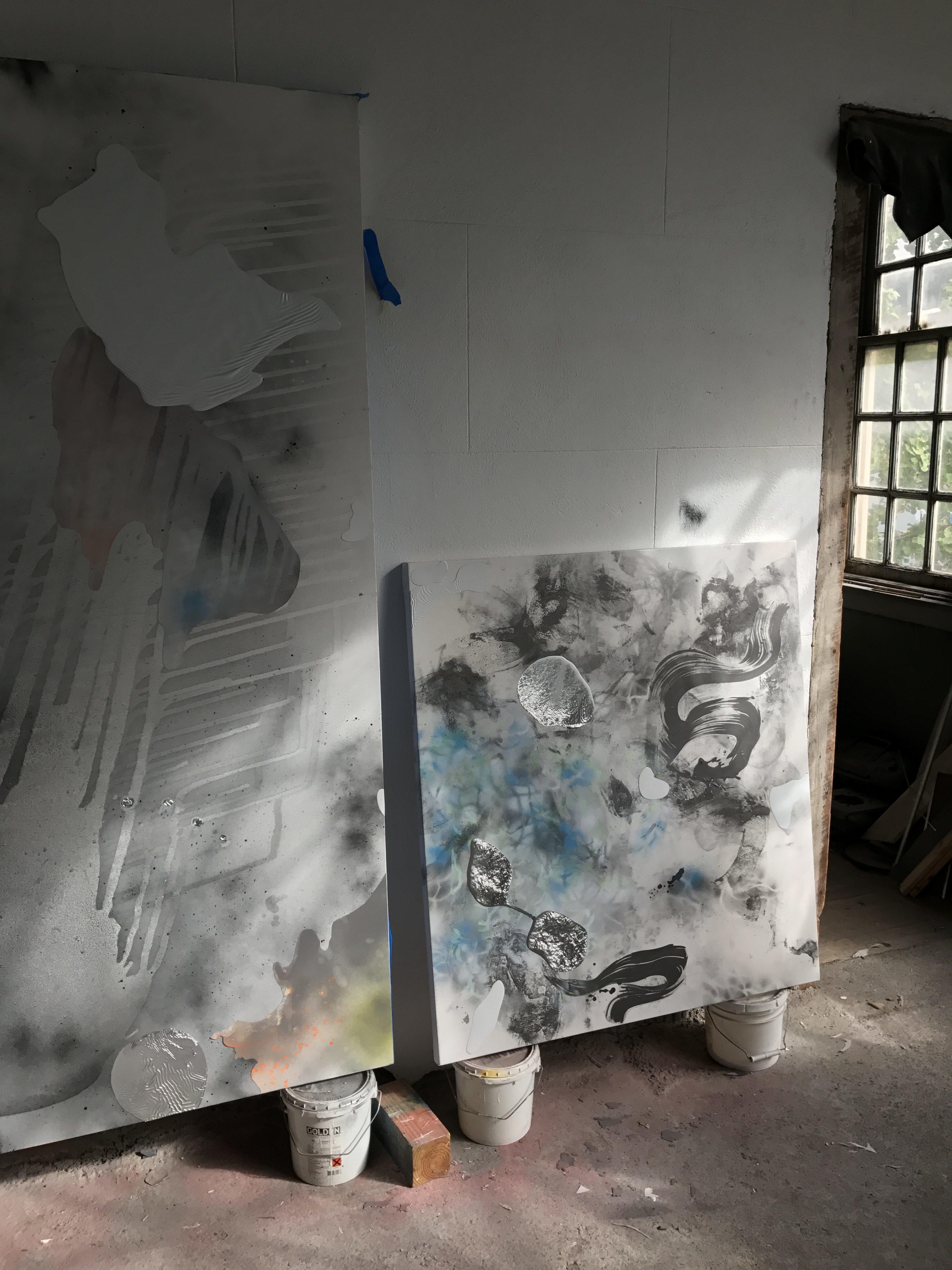 Richard Feaster, Studio Visit, November 2016