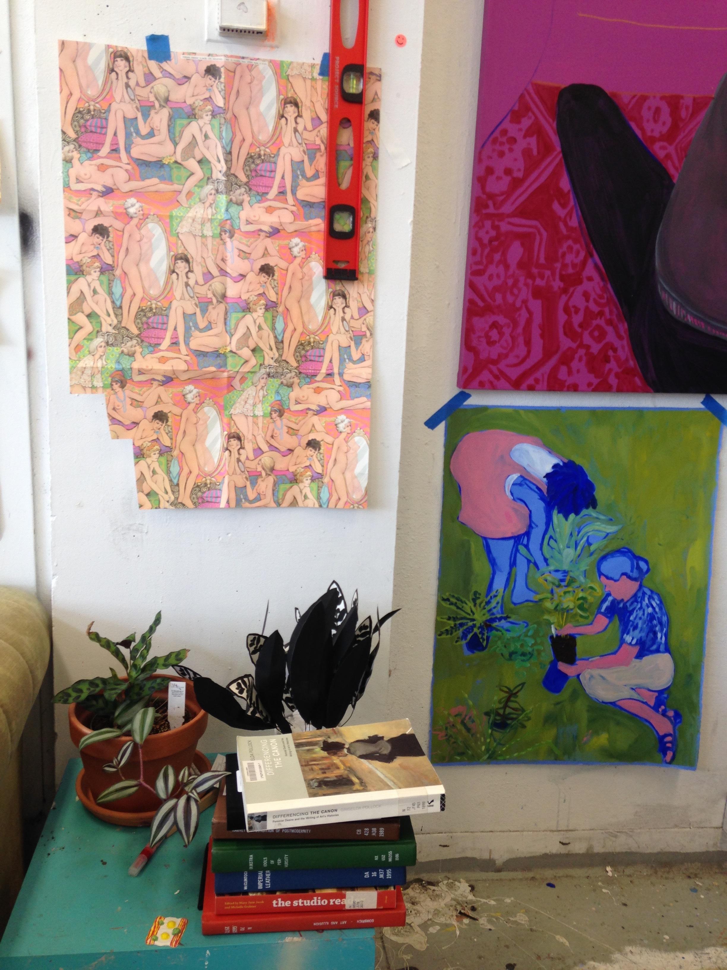 Anna Wehrwein, Studio Visit, November 2016