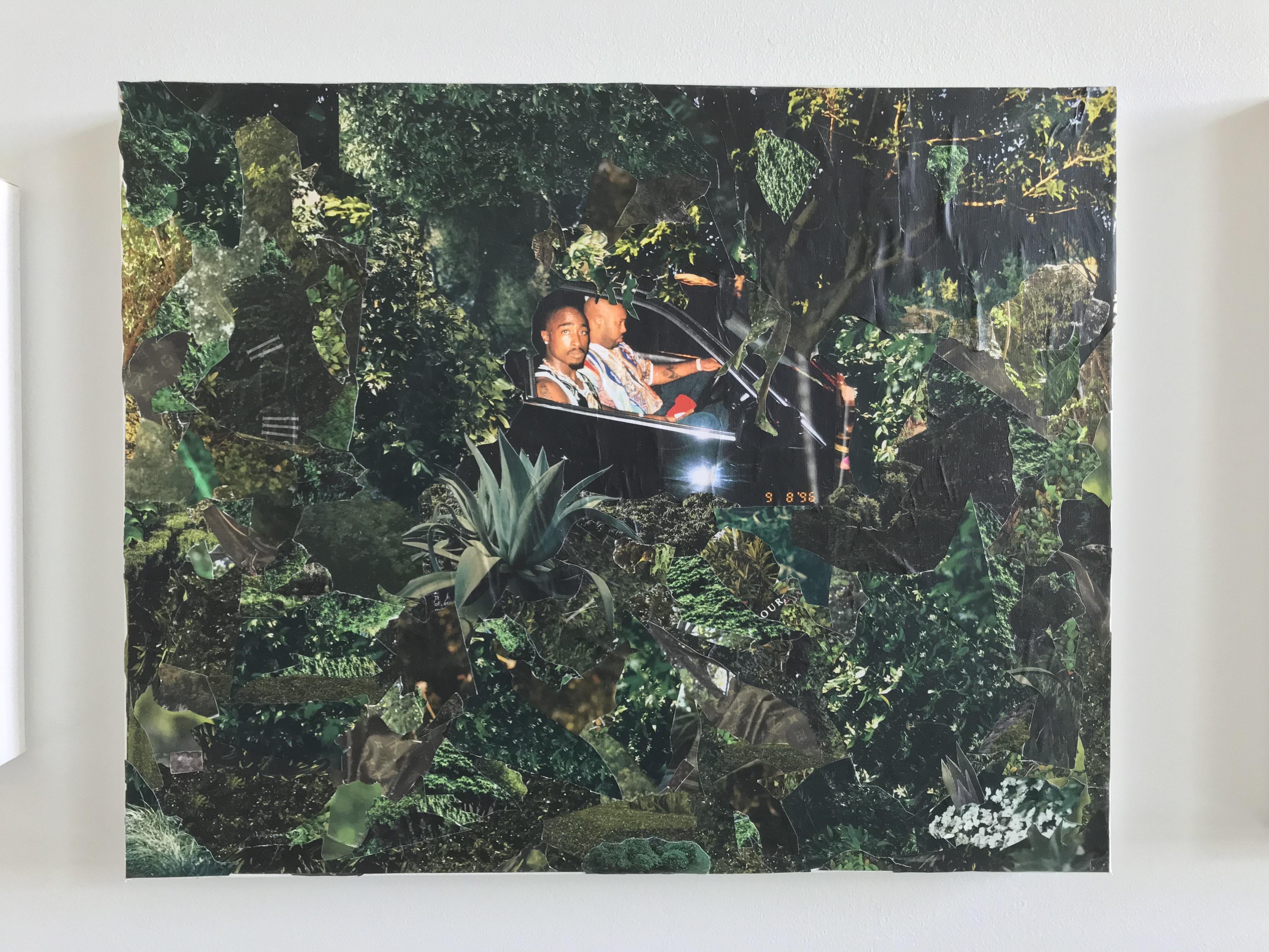 Lester Merriweather, Studio Visit, Crosstown Arts Residency Program, July 2018