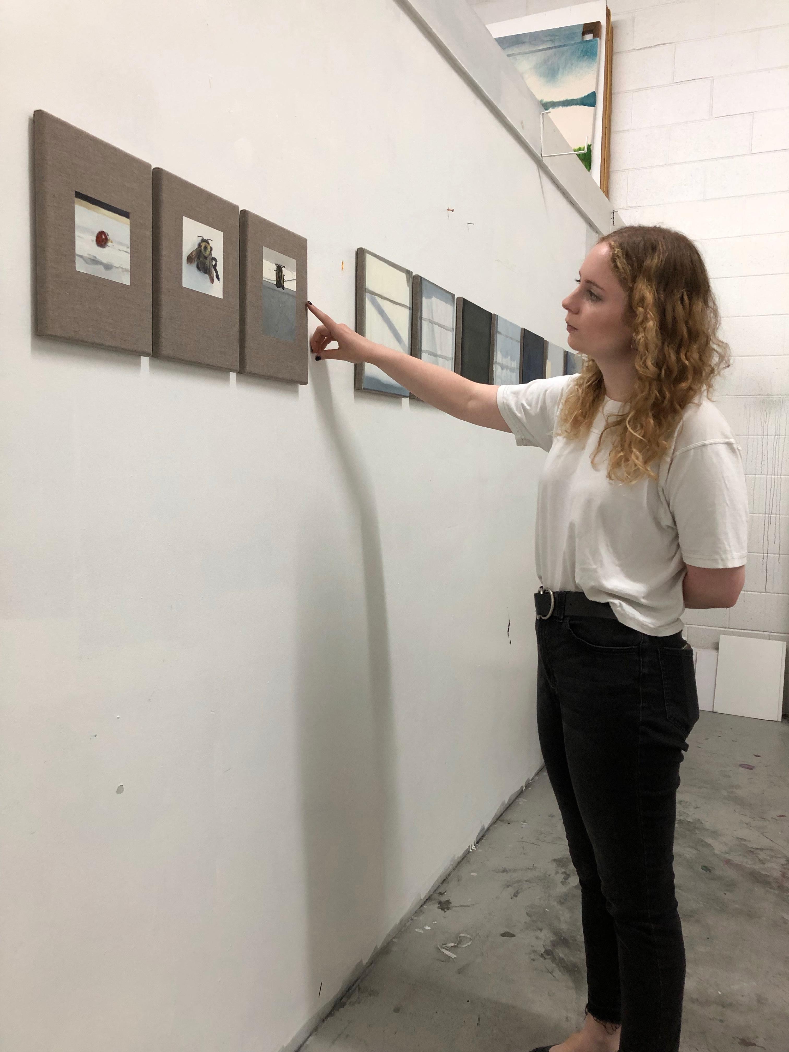 Megan White, Studio Visit, June 2019