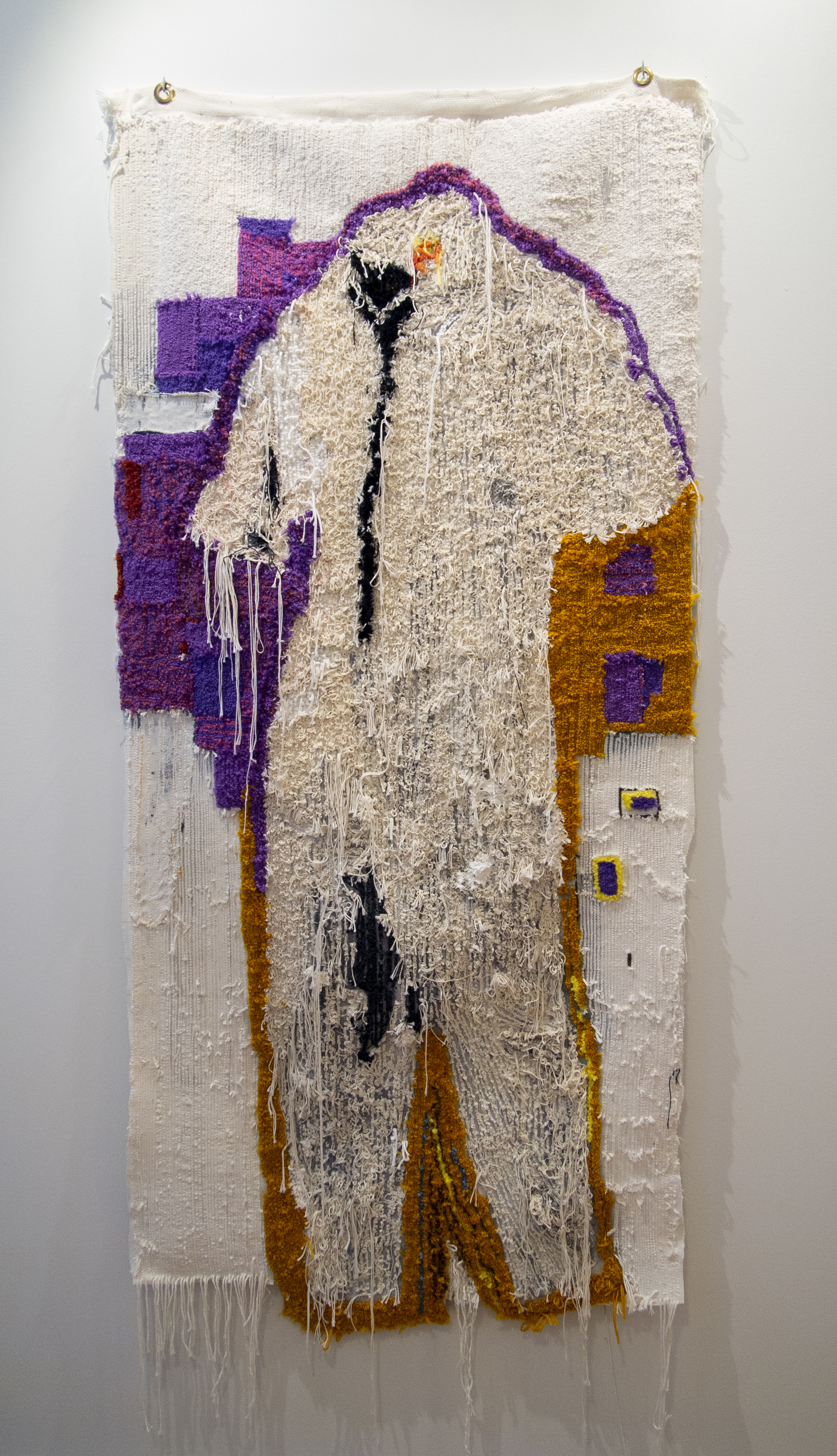 Weelsee Wen (Judy Rushin), 2048, cotton and synthetic fibers and dyes, 2019.
