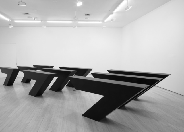 Angle / Edge / Plane: The Sculpture of Ronald Bladen